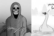 죽음을 앞둔 엄마 백조와 사신의 마지막 대화